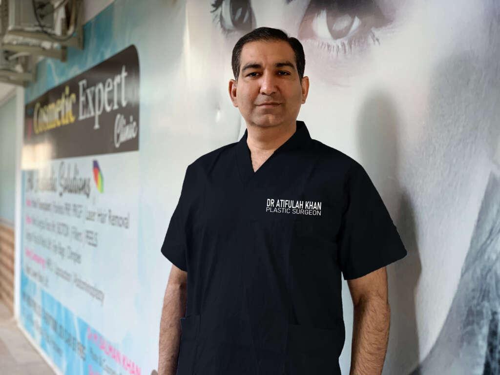Dr Atif Ullah Khan, Plastic Surgeon
